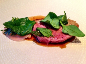 lamb-with-jus-spinach-and-rhubarb